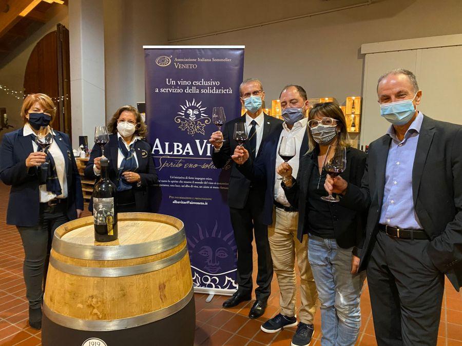 Alba Vitæ: un vino esclusivo per i dieci anni del progetto solidale di AIS Veneto