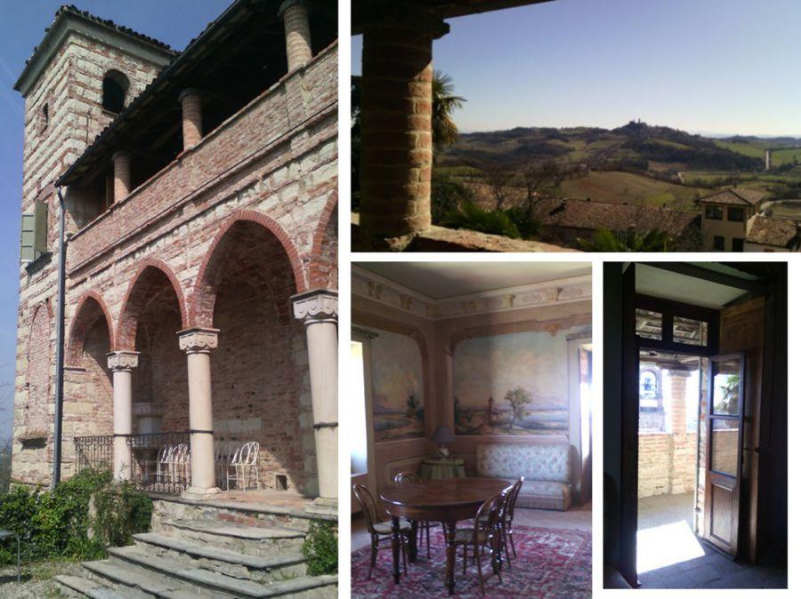 Frassinello, un castello nel  cuore  del Monferrato