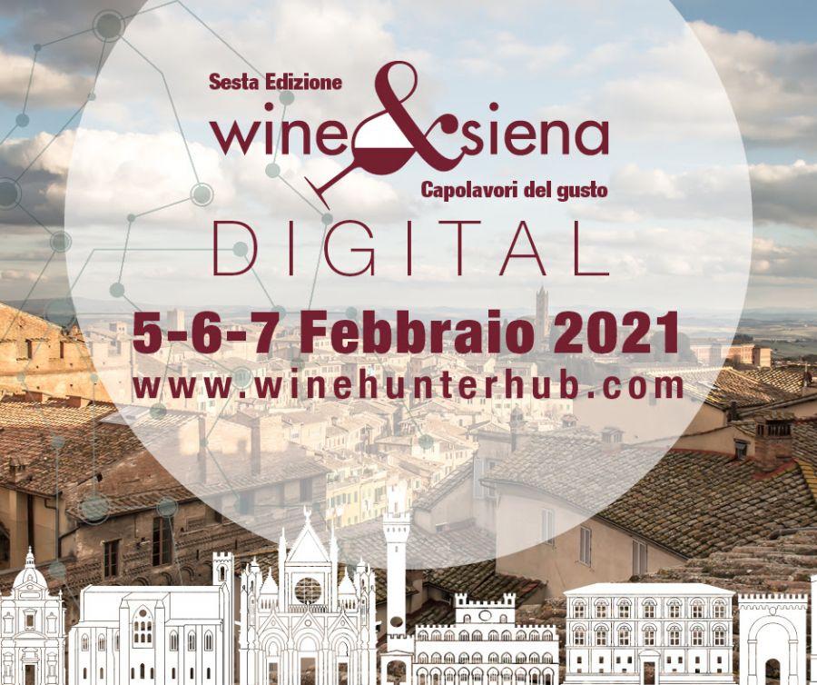 Wine&Siena 2021 versione digital