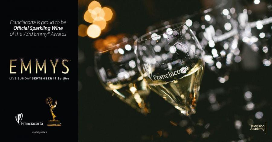 Franciacorta, brindisi ufficiale Emmy® Awards