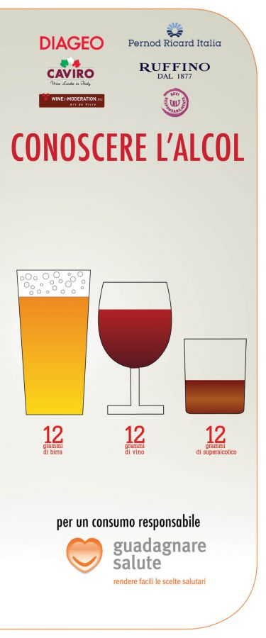Conoscere l'alcol per guadagnare salute