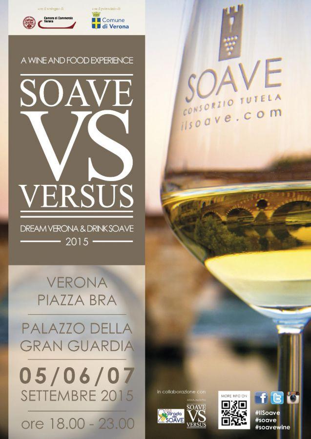 Versus 2015: il meglio del Soave alla Gran Guardia di Verona