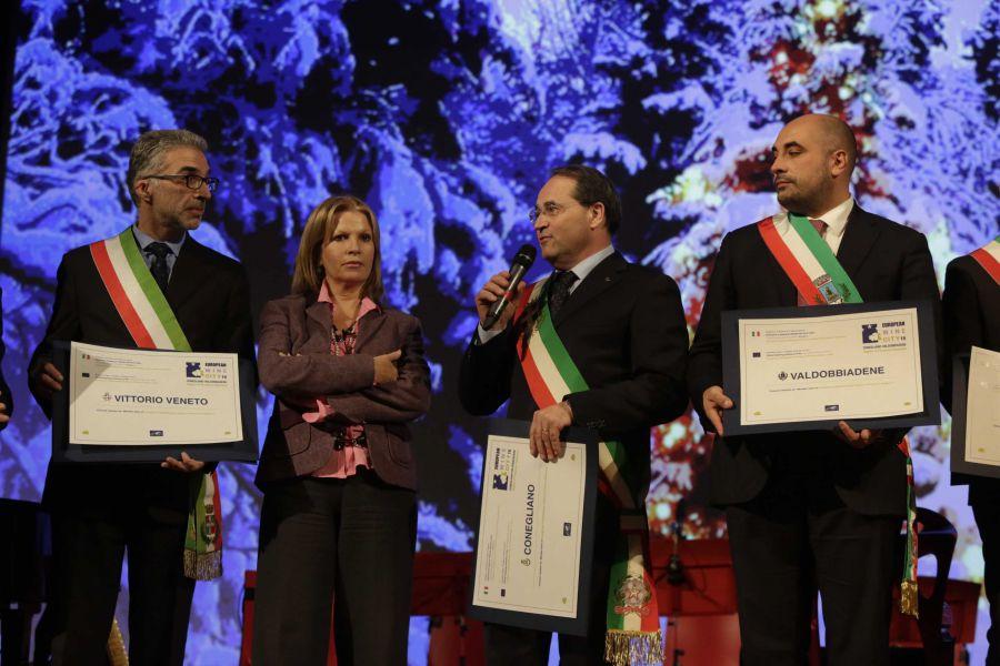 Conegliano Valdobbiadene, apertura ufficiale dell'anno europeo della città del vino