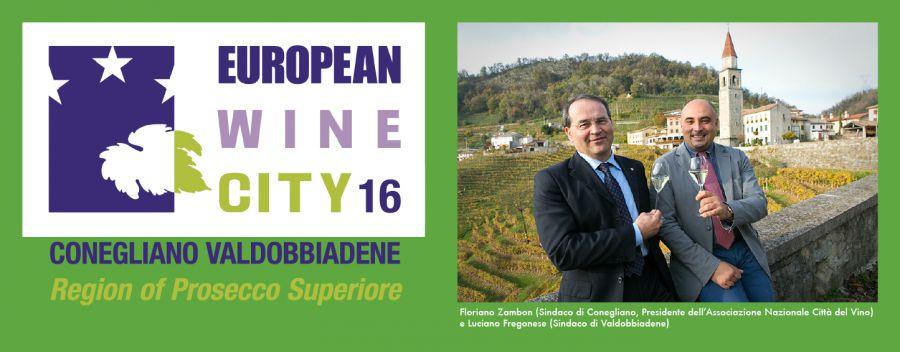 Conegliano-Valdobbiadene, pronto il logo della capitale europea della cultura enologica
